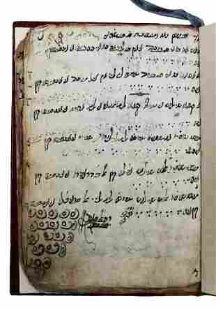 Manuscript with piyyutim in Ladino and a family list.