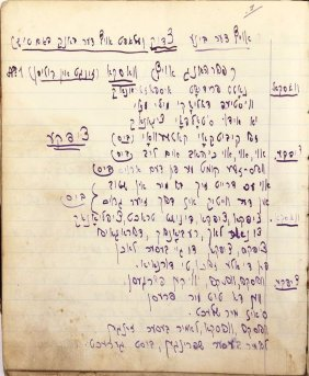 .autographed Manuscripts Of Poems In Yiddish. Vienna.