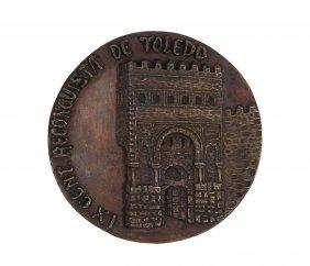 Large Medallion, Synagogue In Toledo