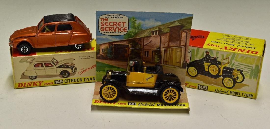 Dinky Toys Diecast Models 109 Gabriel Model T...