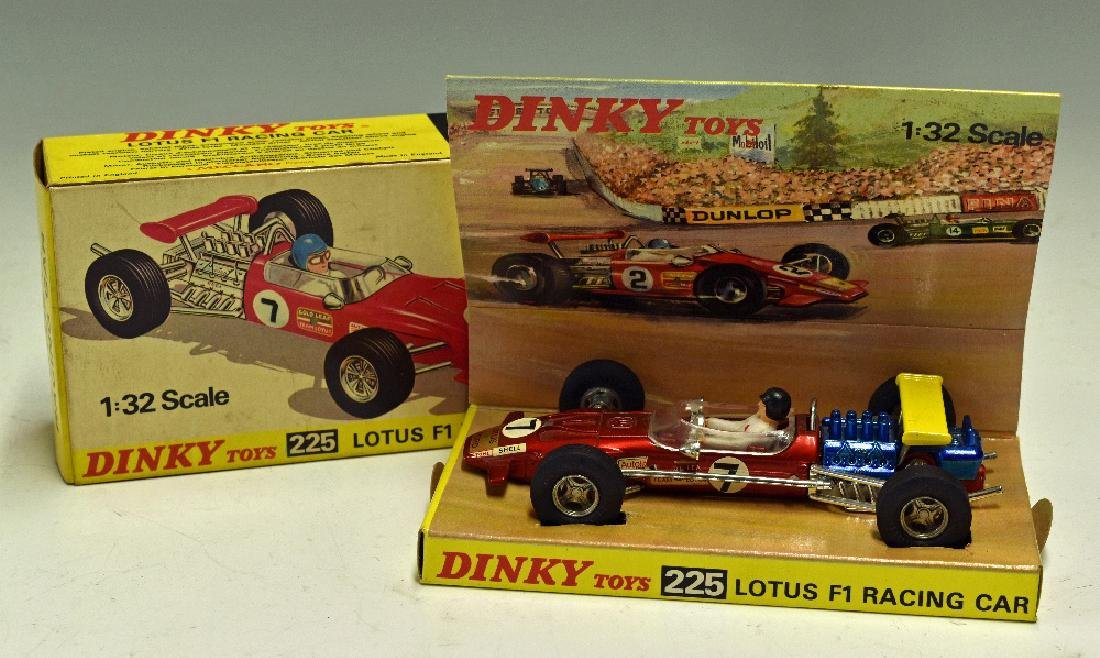Dinky Toys Diecast Models 225 Lotus F1 Racing...