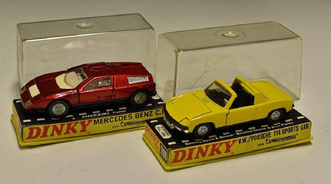 Dinky Toys Diecast Models 208 Porsche 914 Sports...