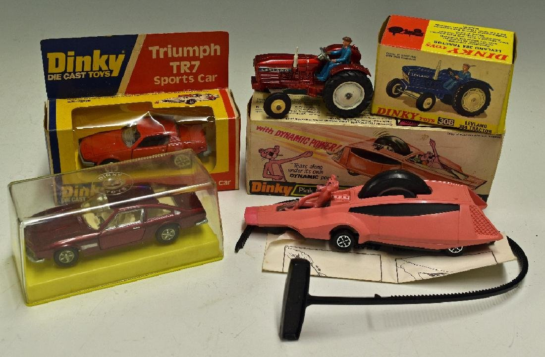 Dinky Toys Diecast Models 354 Pink Panther with...