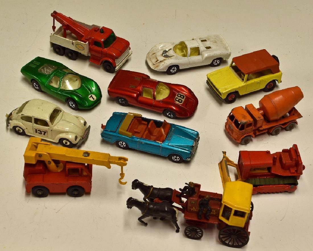 Matchbox Series Selection to include 26 Foden Cement...