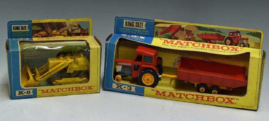 Matchbox King Size Diecast Models includes K8