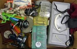 Fishing Tackle – Selection of Various Fishing