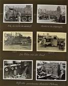 1938 Photo Album of Henschel Trucks in Spain...