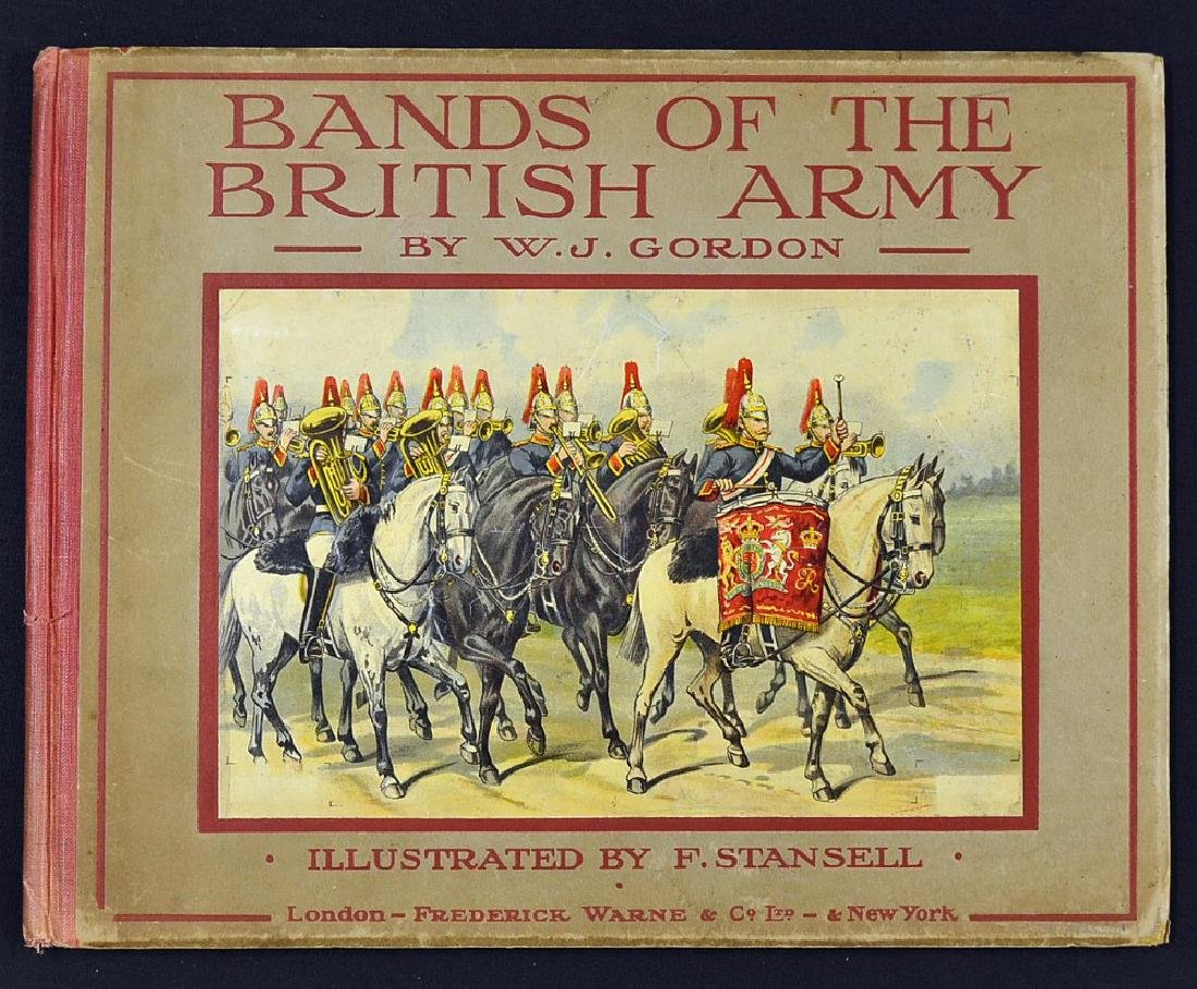 Bands of the British Army Book by W...