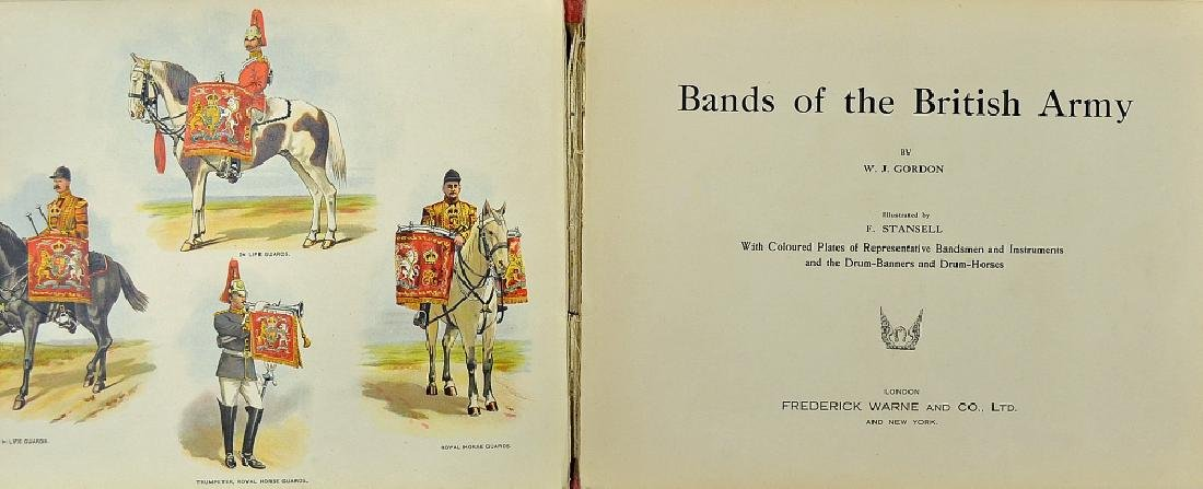 Bands of the British Army Book by W... - 2