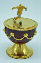 A Truly Stunning George Best Limited Edition Fabergé...