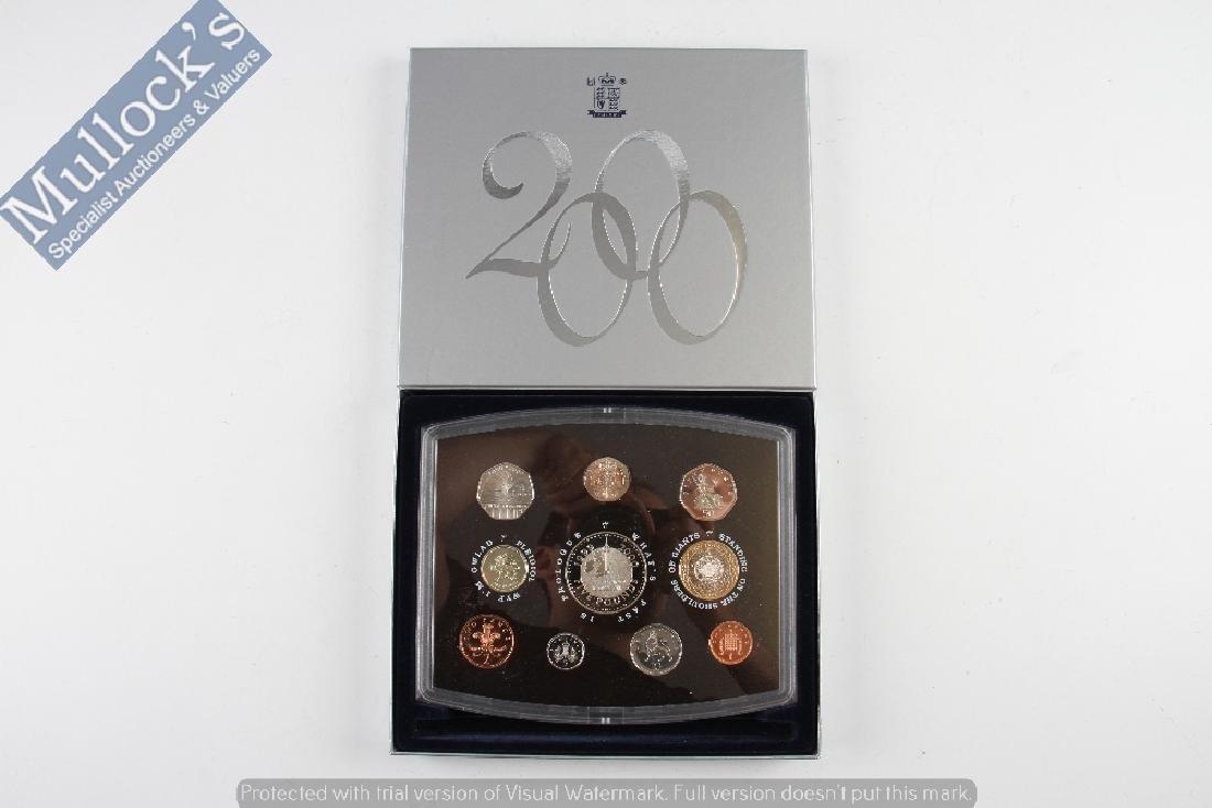 2000 United Kingdom Royal Mint Proof Coin Set...