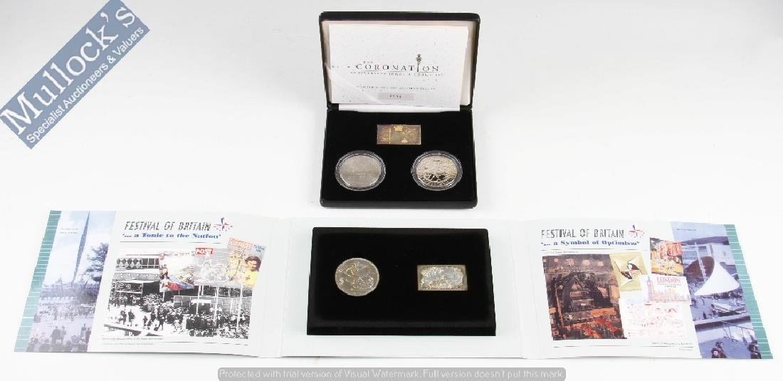 2 Royal Mint Coin Sets: To include The...