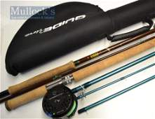 Hardy and Ron Thompson fly rods and reel...