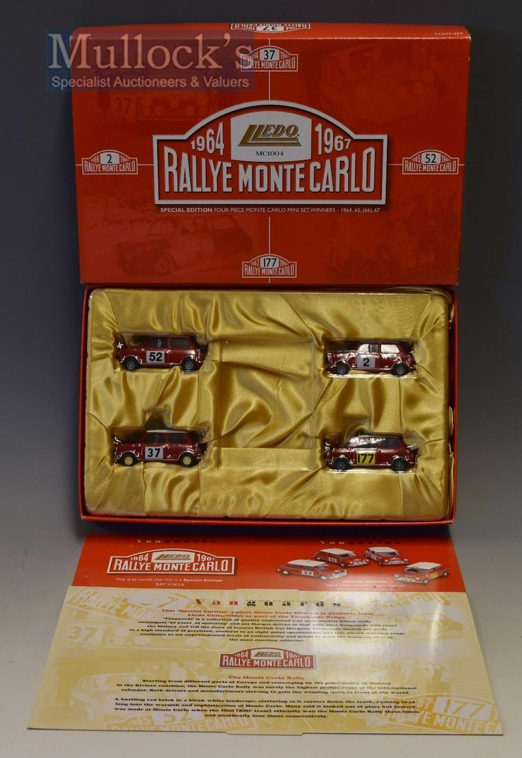 Lledo Vanguards Special Edition 4x Piece Monte Carlo...
