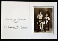 Royalty 1992 Signed Prince and Princess of Wales