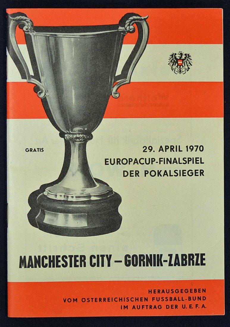 1970 Final of the European Cup Winners Cup footbal