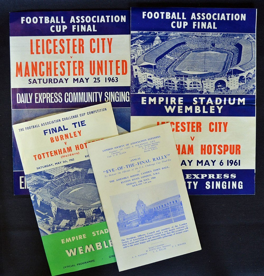 FA Cup Final selection: Community song sheets for