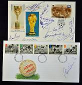 1966 Football World Cup Signed First Day Covers in