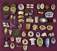 England Rugby Related Pin Badge Selection with var