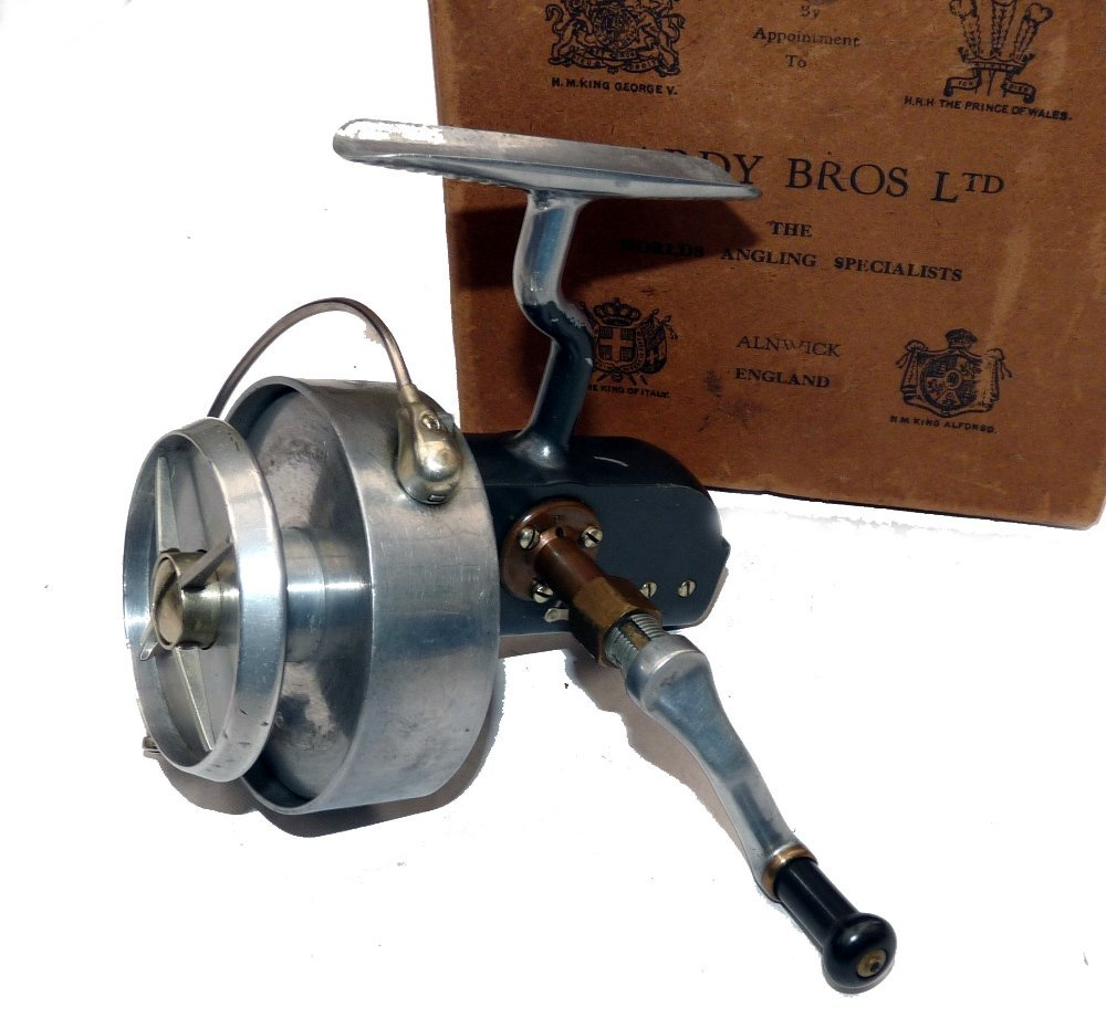 REEL: Fine Hardy Altex No.3 MkV spinning reel