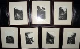PRINTS 7 Limited edition set No654 BB in