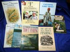 Ade, T - 2 x The Trout And Salmon Handbook by