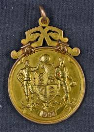 1904 Manchester City FA Cup Winners Medal to S B A