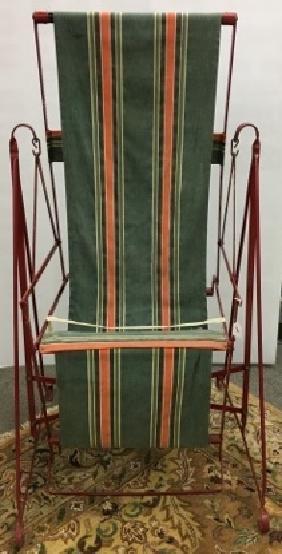 Iron & Canvas Deck Chair