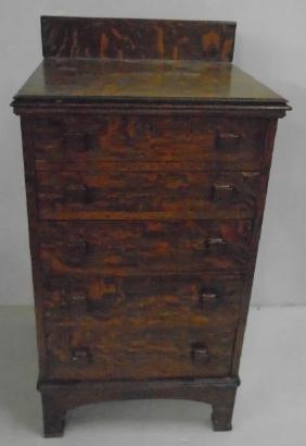 5 Drawer Oak Cabinet