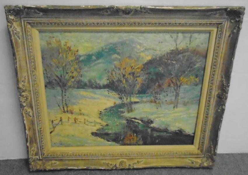 Painting, Autumn in the Country