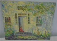 Painting- Louise Kamp- Oil on Artist Board