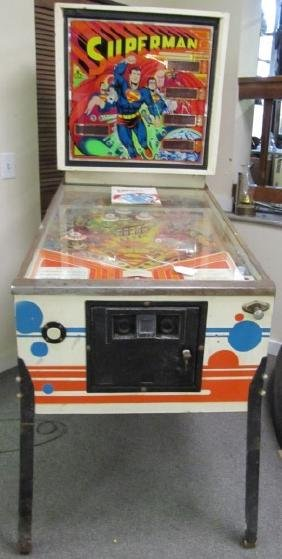 """""""Atari"""" Superman Pinball Machine"""