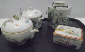6 Pcs of Early Porcelain
