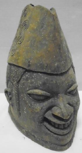 Carved Mask as found