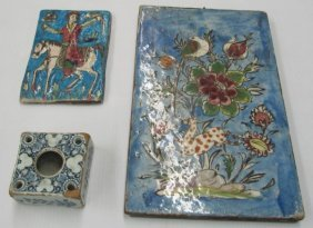 Persian Tile and Inkwell, Early