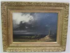 "12"" x 18"" Oil on Canvas, Windmill"