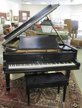 "Circa 1907 Steinway Ebonized Model ""o"" Piano Serial #"