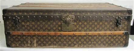 """Vintage Louis Vuitton Trunk 21"""" x 39"""" x 13"""""""