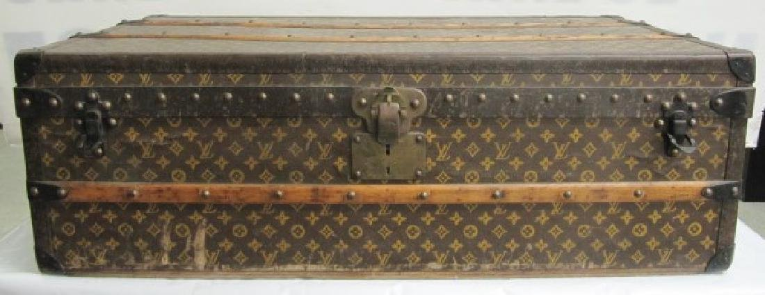 "Vintage Louis Vuitton Trunk 21"" x 39"" x 13"""