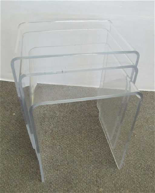Lucite nesting tables watchthetrailerfo