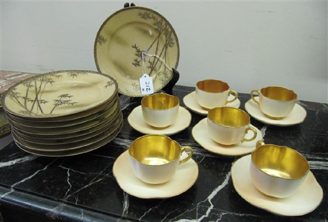 21 Pc Royal Worcester and Oriental Plates