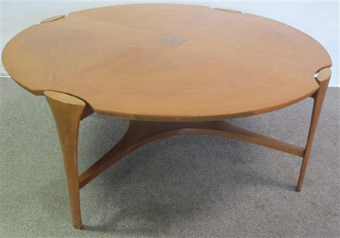 """John Stuart Coffee Table 40"""" diam, 16"""" H"""