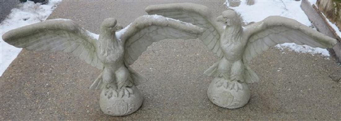 "Pr Concrete Eagles 33"" Wingspan"