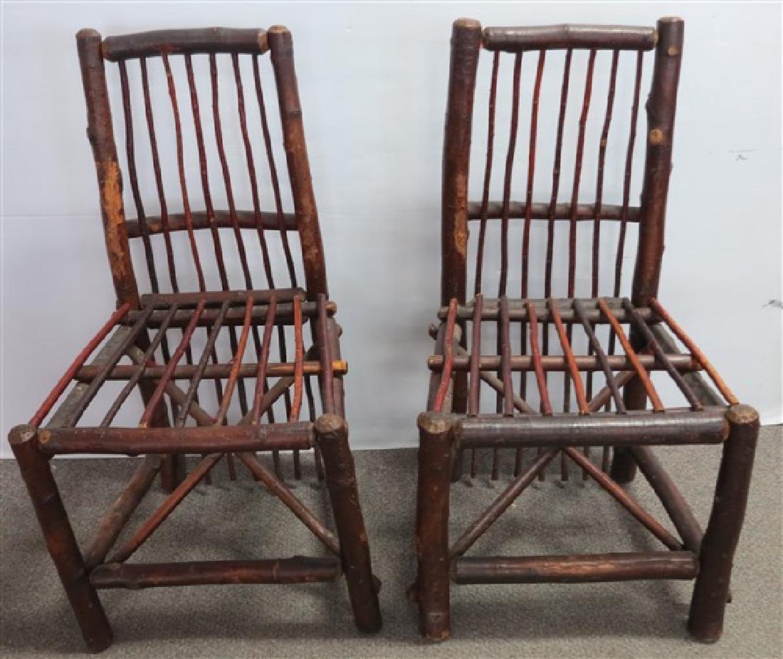 Pr Adirondack Porch Chairs
