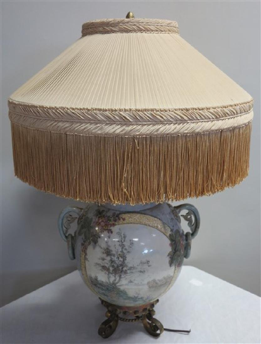 Single Paint Decorated Lamp