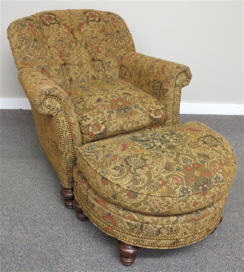 Chair and Ottoman..Harden Furniture