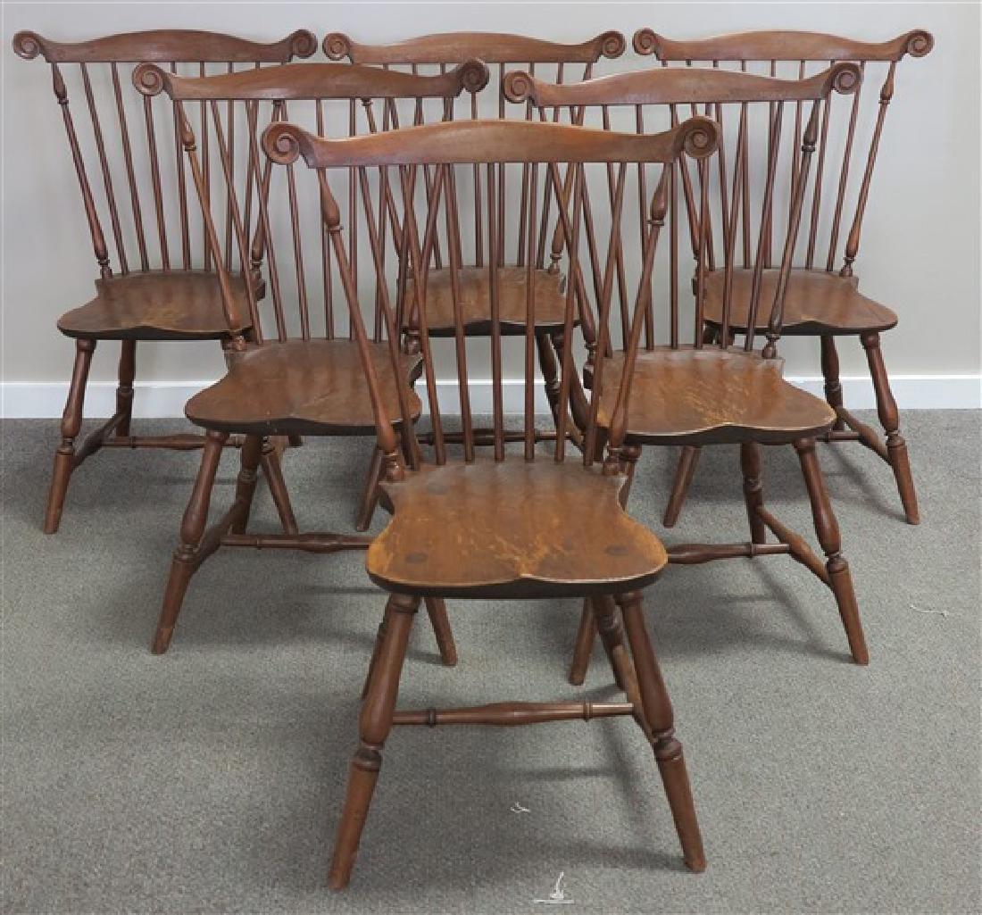 6 Windsor Side Chairs