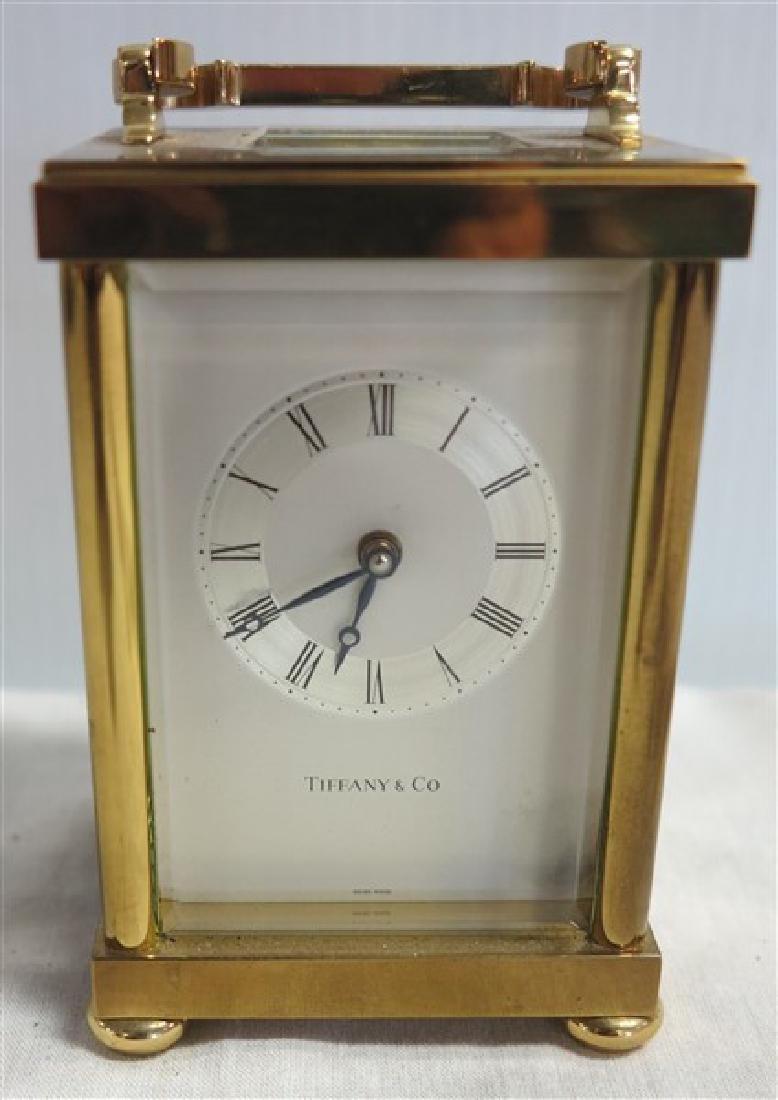 Tiffany Carriage Clock