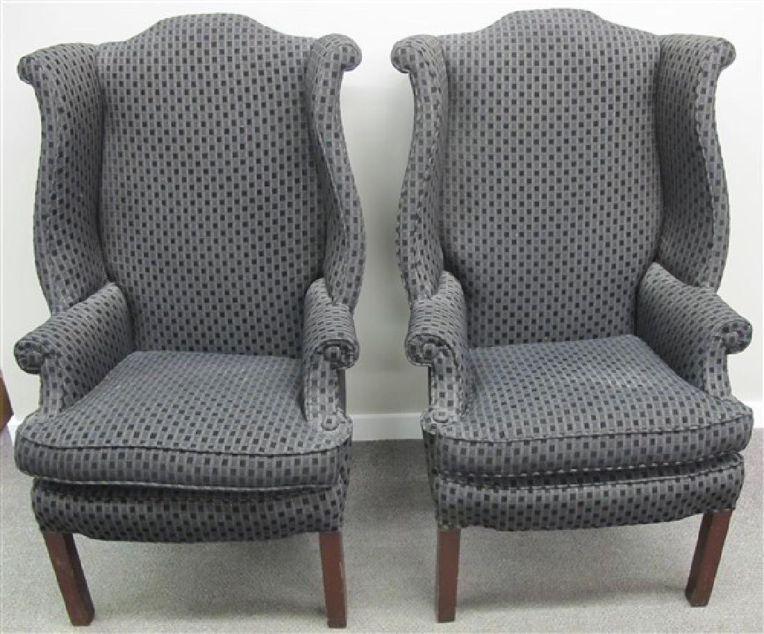 2 Stylish Wingchairs