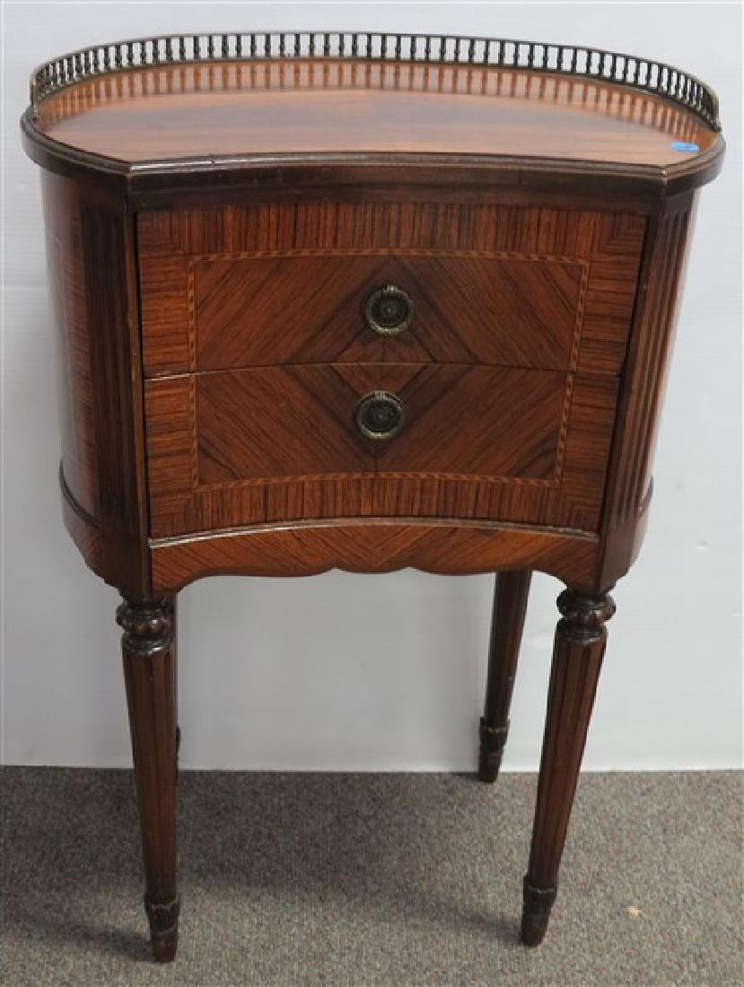 Rosewood Kidney Shape Stand